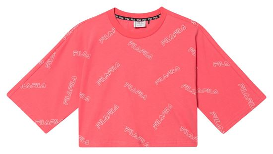 Picture of JUMUTA AOP WIDE CROPPED TEE