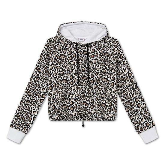 Picture of ELAXI AOP CROPPED HOODY