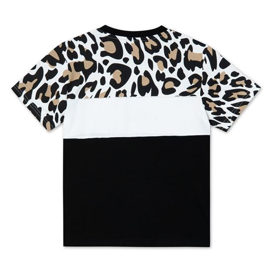 Picture of ANOKIA AOP BLOCKED TEE