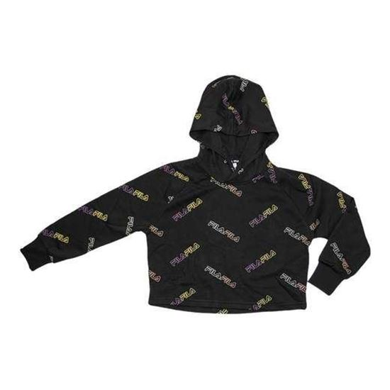 Picture of JANAELLE AOP CROPPED HOODY