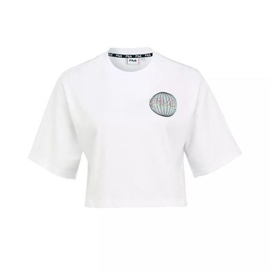 Picture of ANEMORE CROPPED WIDE TEE