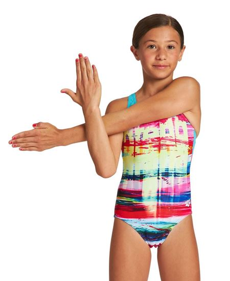Picture of RAINBOW COLORS SWIM PRO BACK