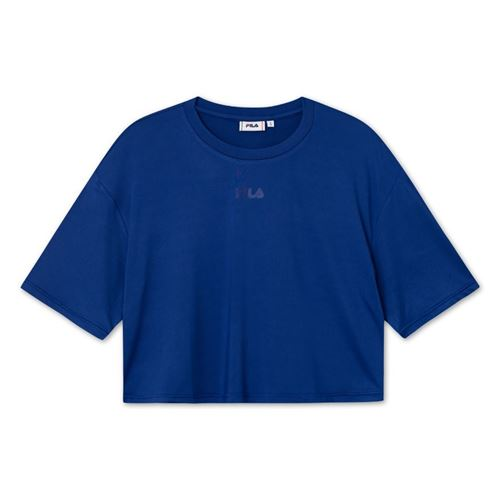 Picture of AMAZIE OVERSIZED CROPPED TEE