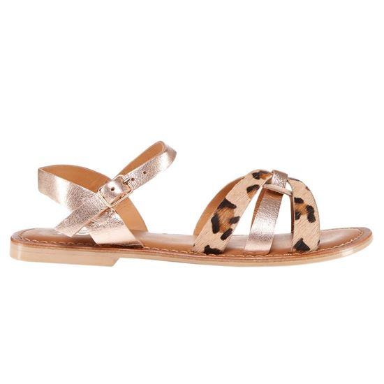 Picture of ANIMAL PRINT SANDALS