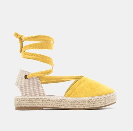 Picture of ESPADRILLES WITH ANKLE STRAP