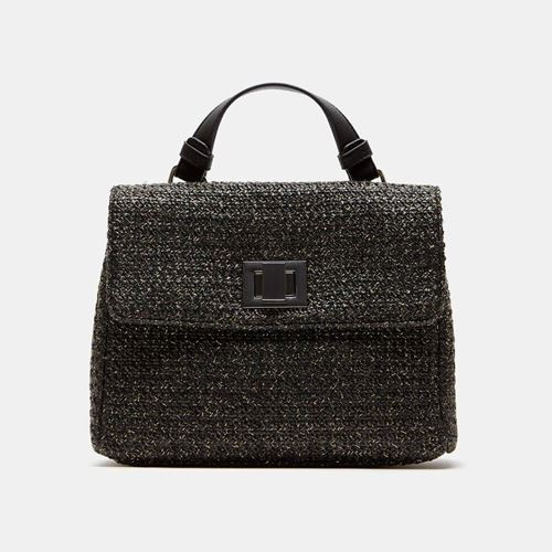 Picture of RAFFIA EFFECT HAND BAG