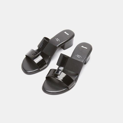 Picture of MULES SANDALS WITH MIDI HEELS