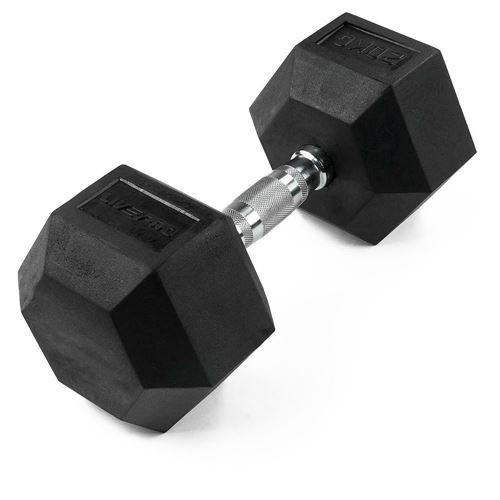 Picture of HEX RUBBER DUMBBELL X2